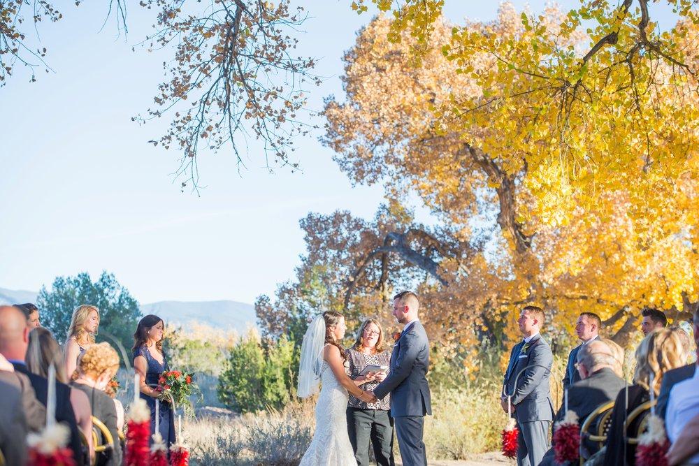 La-Mesita-Ranch-Wedding-Santa-Fe-New-Mexico-Fall-Outdoor-Ceremony-Under-Tree_40.jpg