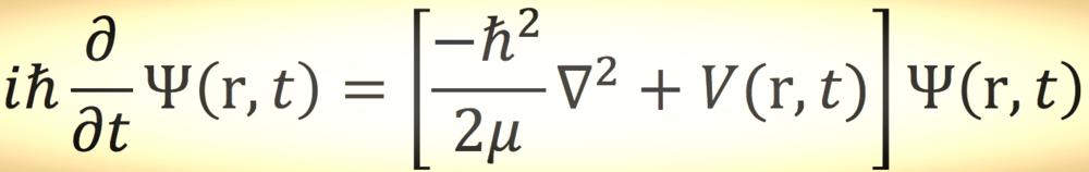Time-dependen Schrödinger Equation  (single non-relativistic particle)
