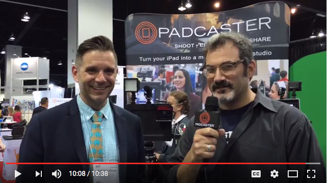 Padcaster Interview at 2016 ISTE Conference