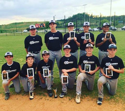 12u Perfect Game Super25 Deep South Regional Champions: Exposure Black from Chattanooga, TN.