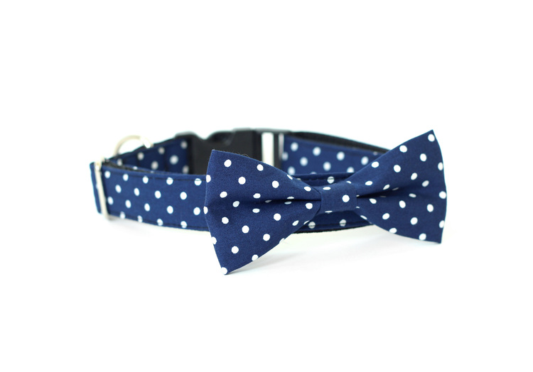 "Usagi team's ""officer's club"" bowtie collar for dogs - made in san francisco, inspired by san francisco"