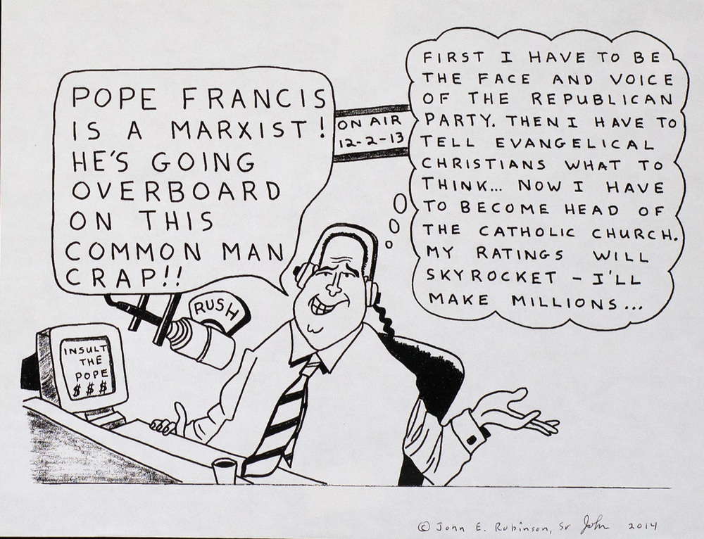 Pope Francis is a Marxist