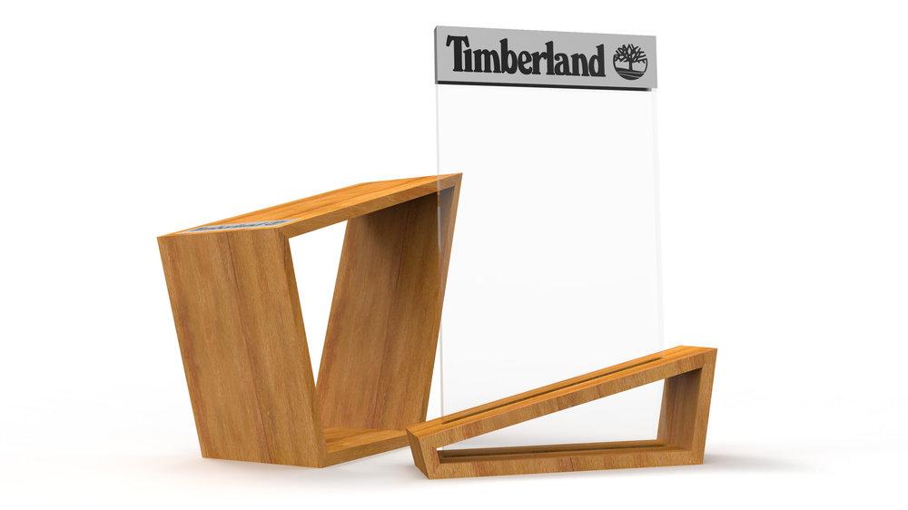 Timberland Retail Display