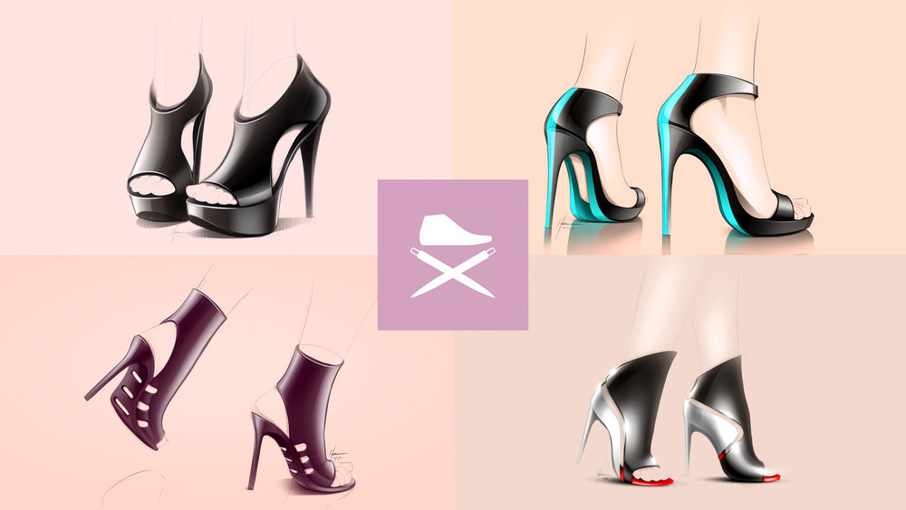 High Heels - See some of my high heel concepts on the ConceptKicks website.