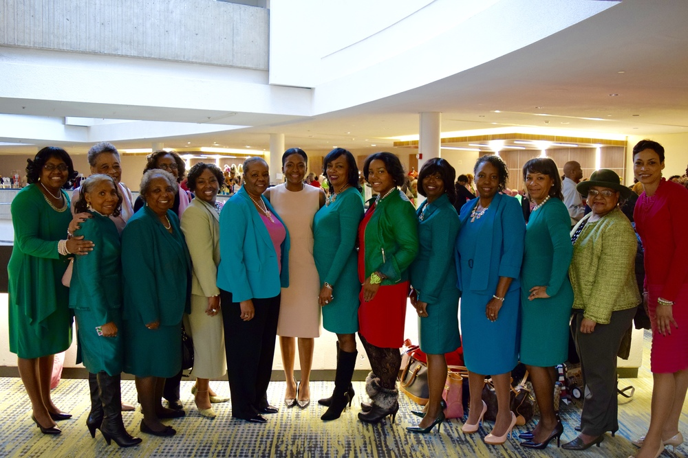 Joint Founder's Day celebration in Detroit, MI