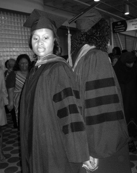 Female urologist - delta sigma theta circle at graduation