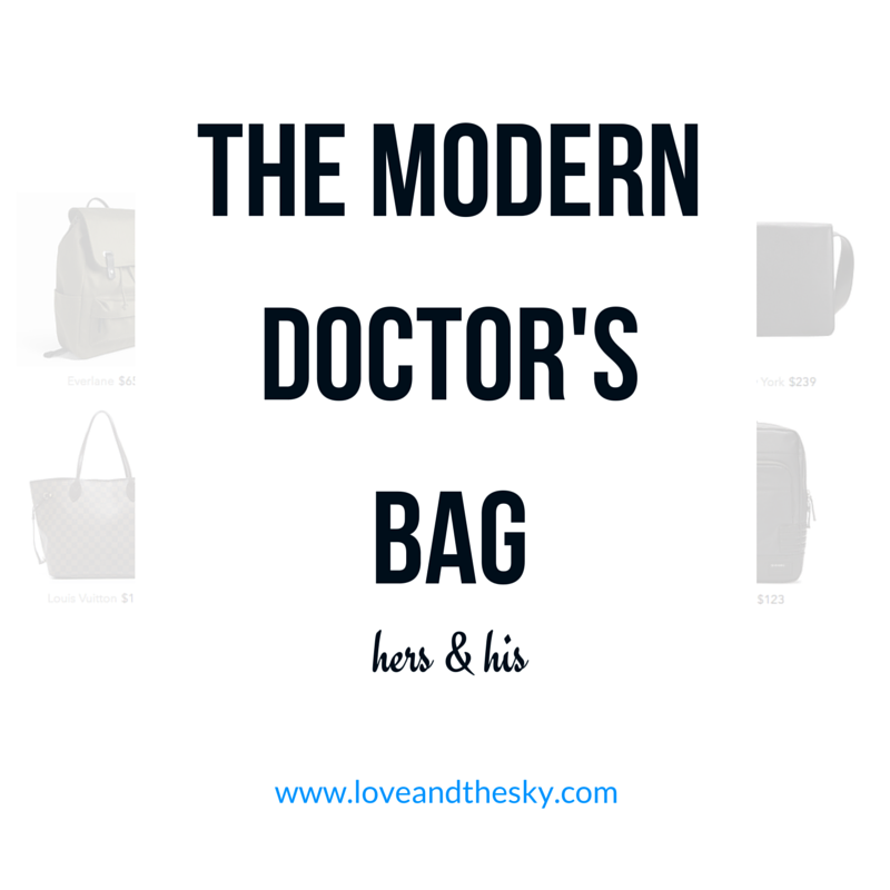 the modern doctor's bag - his and hers