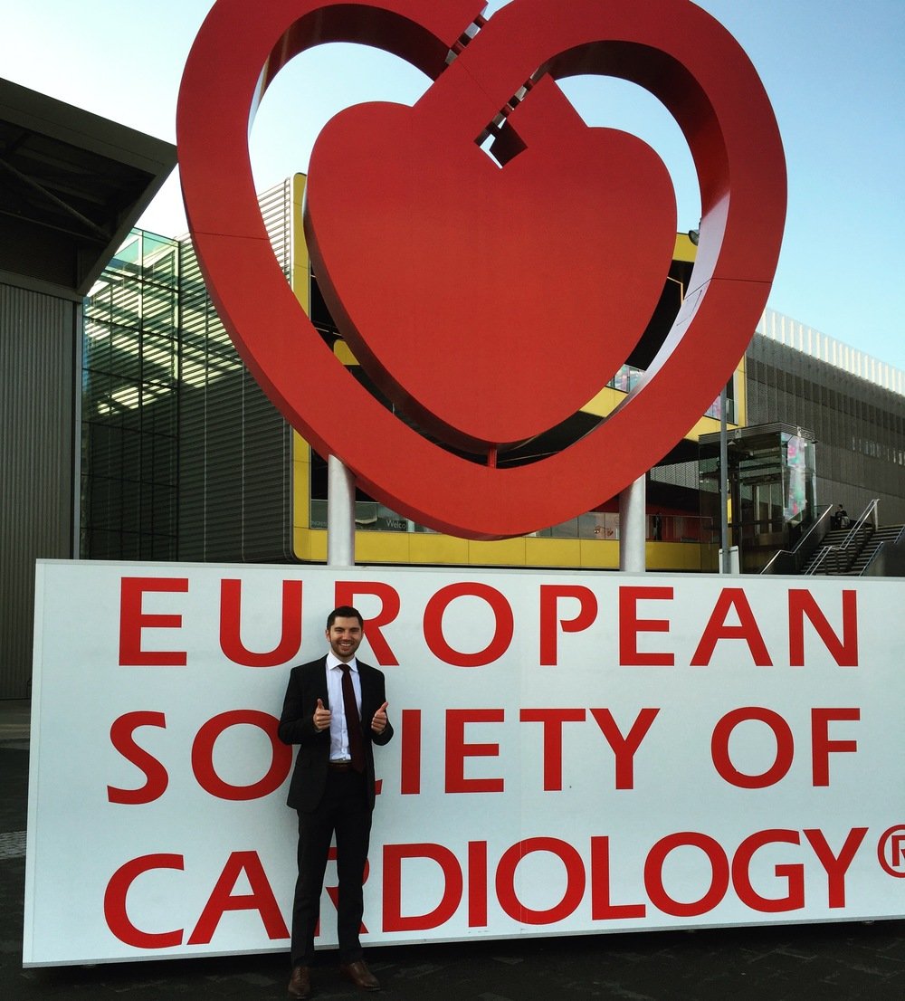 Emory Internal Medicine resident at European Society of Cardiology