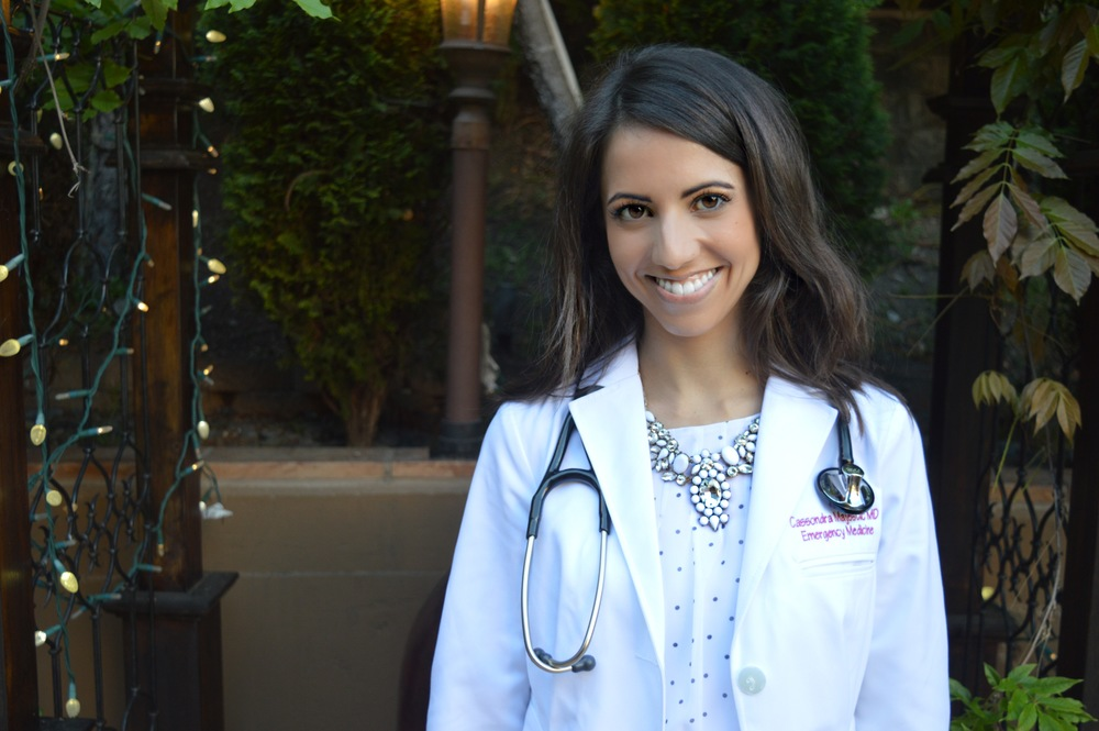 Cassie Majestic, MD - Emergency Medicine physician - @dr.majestic_md - career profile - love and the sky