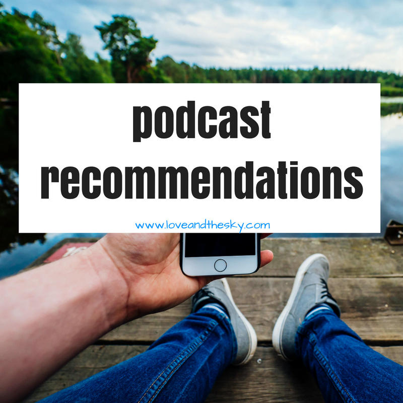 podcast recommendations - this American life, #askgaryvee, the importance of sleep, invisibilia