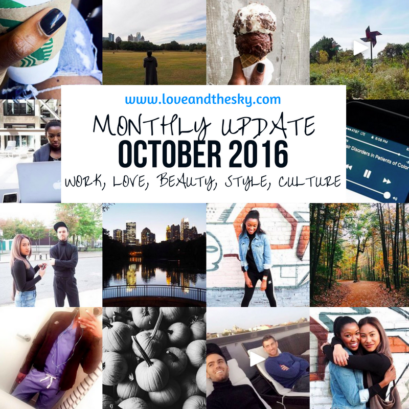 Love and the Sky monthly update by Elyse Love, MD - October 2016 - work, love, beauty, style, culture - Gilmore girls, frye hiking boots, my white boyfriend, my experience with drybar, Nordstrom, winter, canada goose, woolrich, macbook pro, apple keynote address 2016, windows desktop, hands on a hard body, halle berry