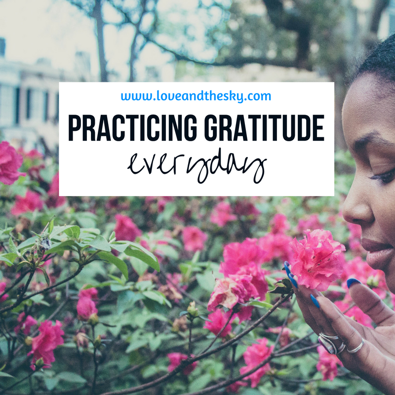 "6 tips to help your practice gratitude everyday  1. reflect on one thing that you're grateful for at the beginning and end of each day.  2. replace ""i have to"" with ""I get to.""  3. when things go wrong, think of all the things that had to go right for that one thing to go wrong.  4. compliment people and do good deeds for others, but don't bullshit.  5. surround yourself with the right people  6. do good work"