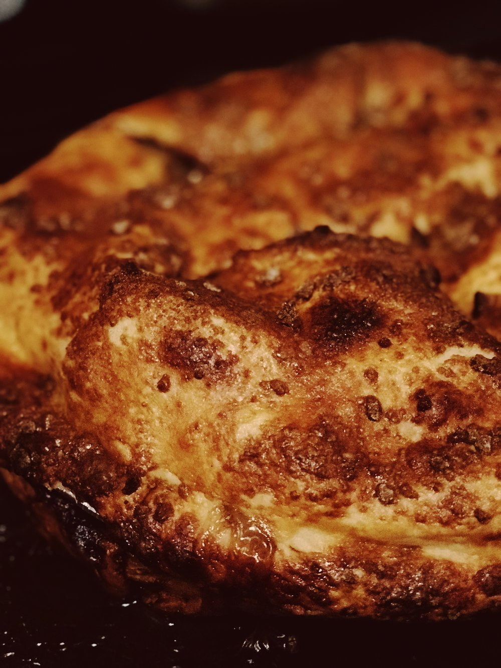 Beautiful, crispy crust