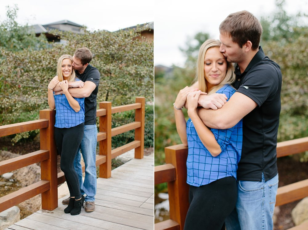 Fall Engagement Session at Epic Headquarters