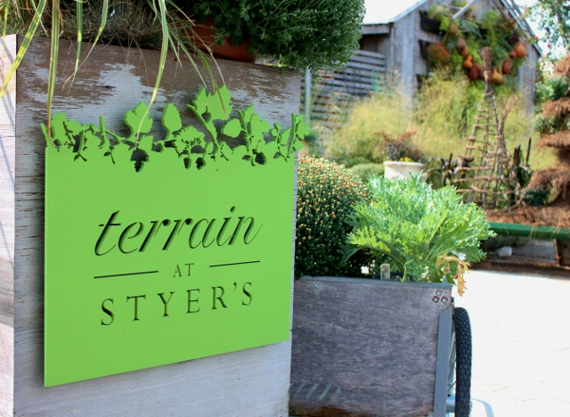 A Trip to Terrain at Styer\'s — Leslie & co