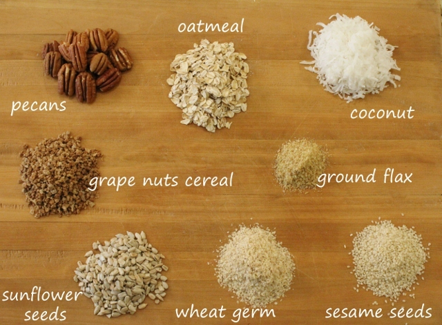 Granola-Ingredients