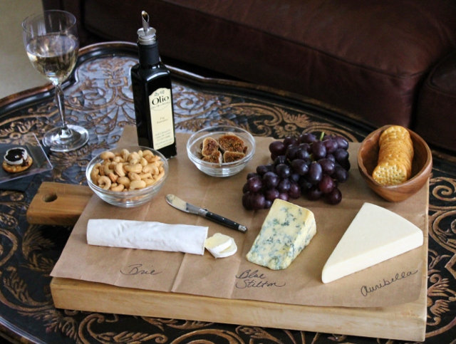Favorite Things Cheese Board