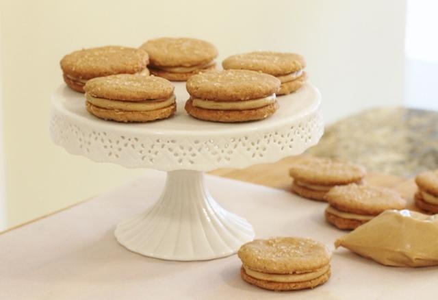Peanut Butter Sandwich Cookies via Leslie Reese (10)