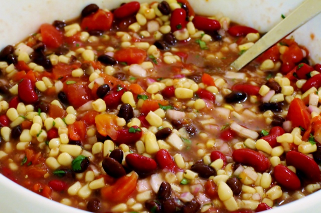 Black Bean Salsa Recipe via Leslie Reese