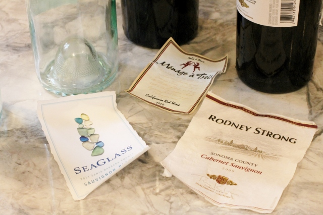Wine Label Coaster DIY via Leslie Reese (2)