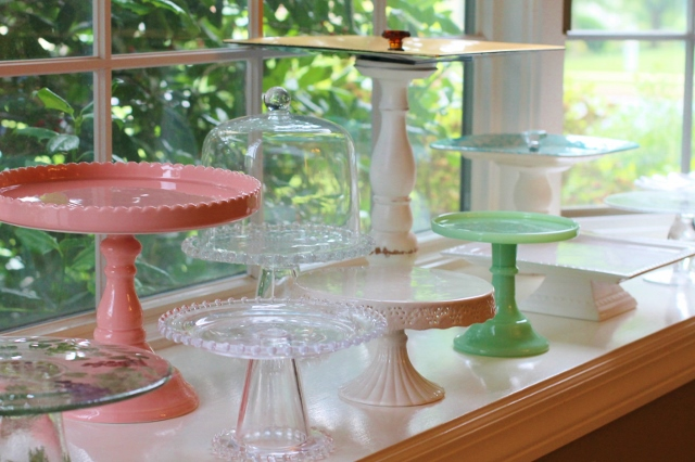 Favorite Things Cake Stands