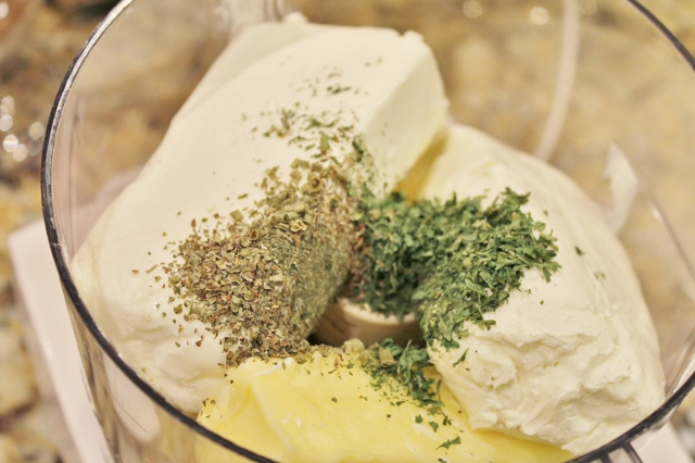 Homemade Boursin Cheese