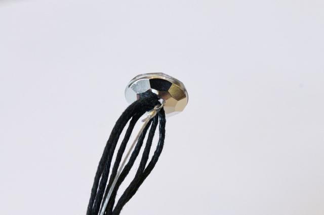 Woven Beaded Bracelet DIY (2)
