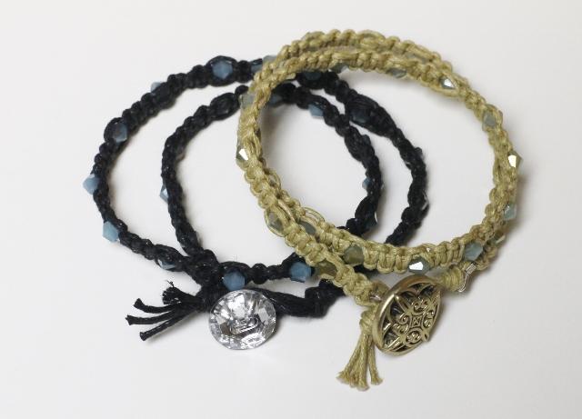 Woven Beaded Bracelet DIY (11)
