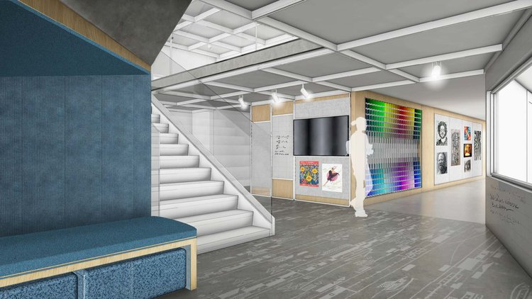 NYC High School Design Concept Carrie Bruns Awesome Interior Design School Nyc Concept