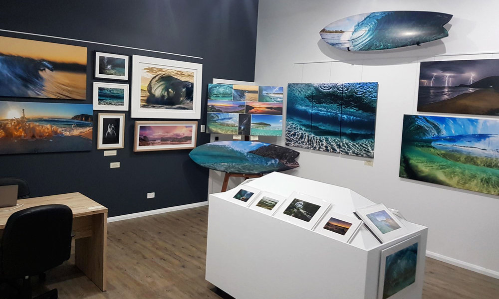 Visit our gallery - Our gallery space at Boomerang Beach showcases our best photography, available framed and ready to take home.Opening Hours for school holidays:Friday, Saturday & Sunday 10am-4pmMonday 10am-3pmOpen during the long weekends as above.Out of School Holidays we open every Saturday 10am-3pm.