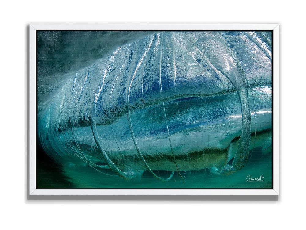 Canvas Box Mount - White