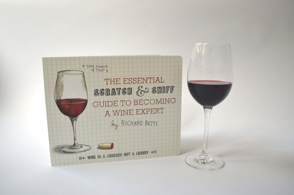 21 pages of cardboard cuteness by Richard Betts- yes, he is a real life Certified Sommelier.