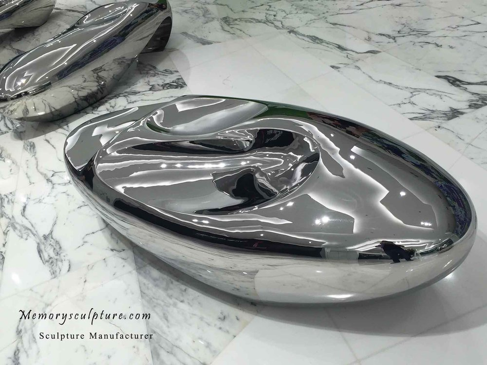 stainless steel sculpture