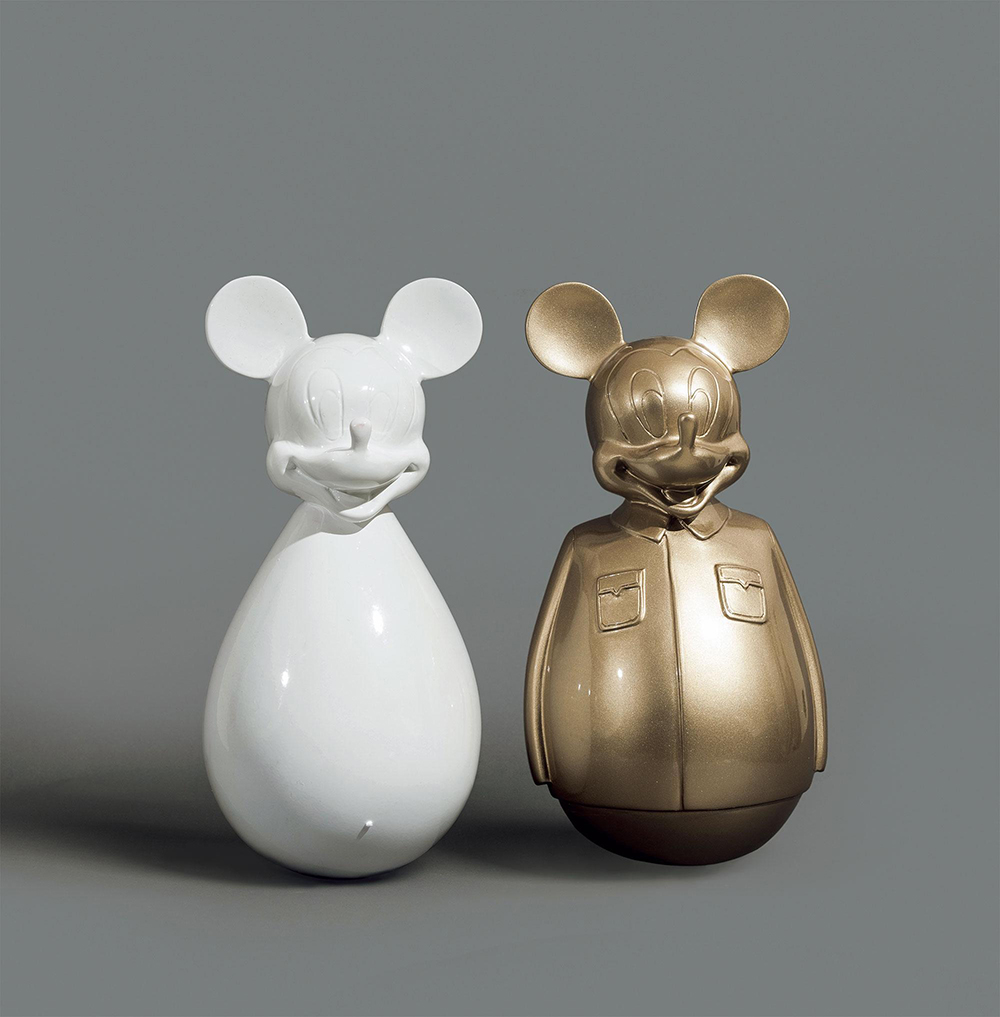 Mickey mouse statue - Custom Mickey mouse statue with high-quality metallic painting finish