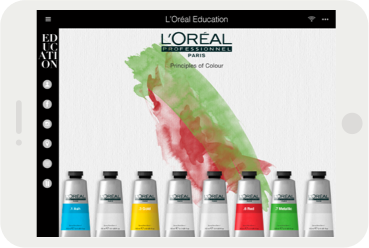 L'Oréal Professionnel Digital Education 2015