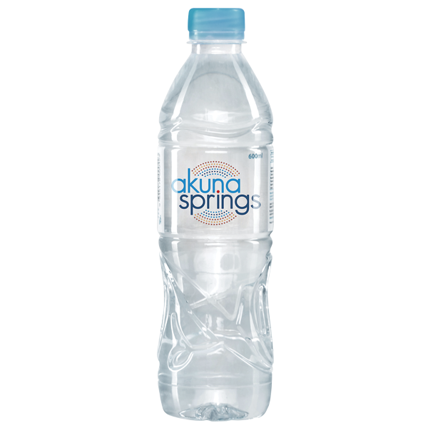 600ml Akuna Springs Still Water