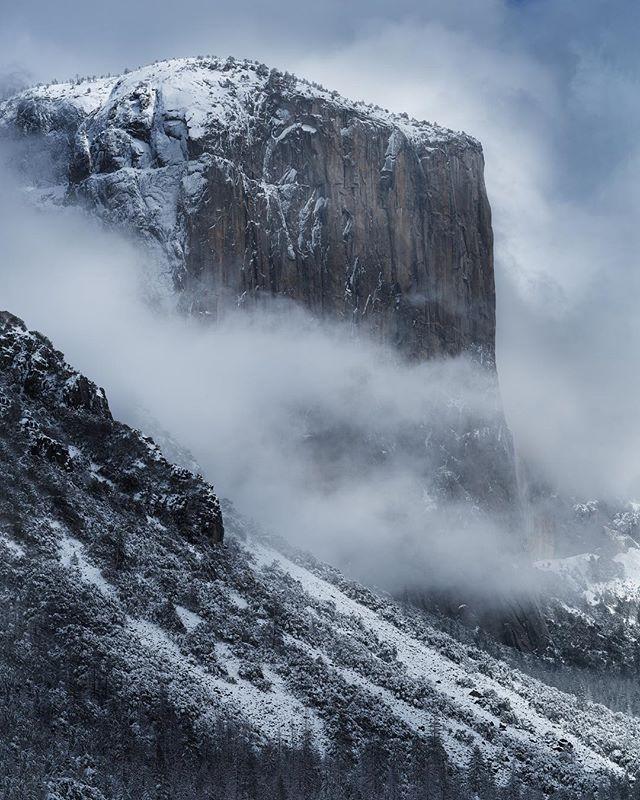 Captain! ❄️❄️❄️ time in Yosemite . #yosemite #yosemitenationalpark #usinterior #california