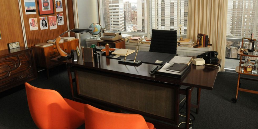 Mad Men Set Via
