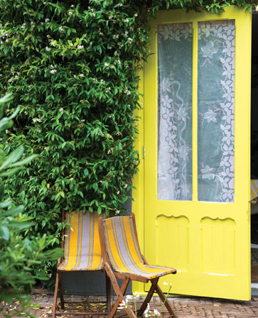 Farrow and Ball ,  Yellow Cake No. 279