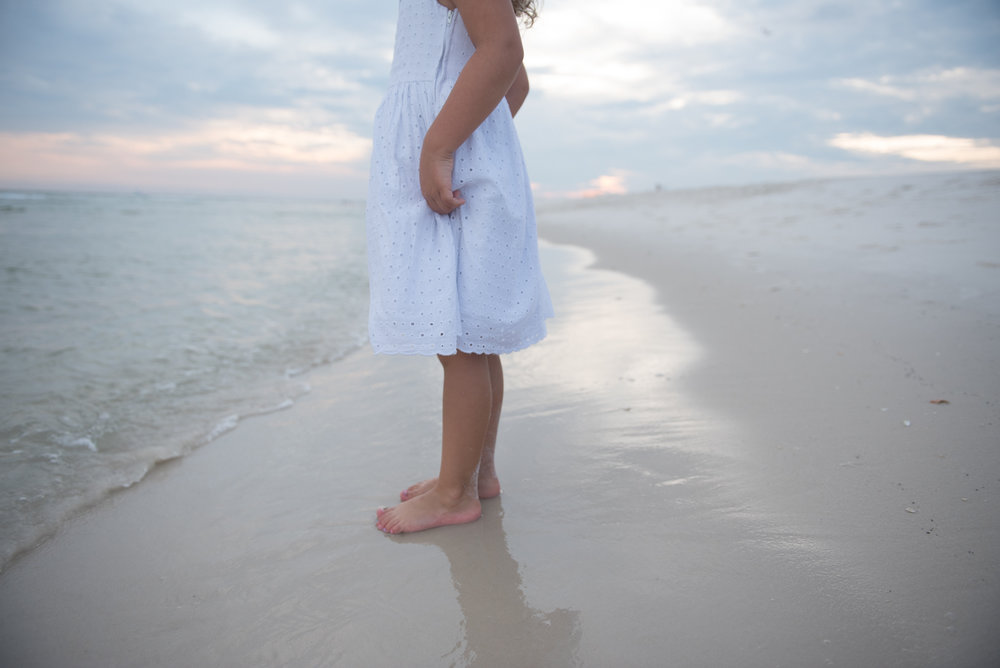 girl by water-pensacola photographer