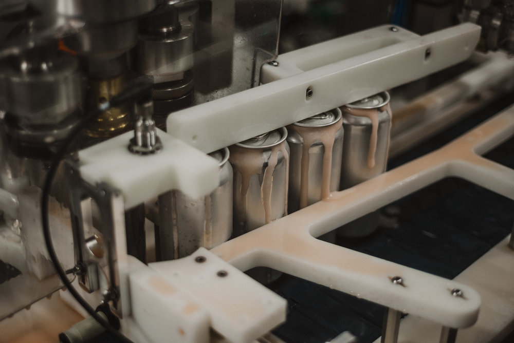 Photo of Glycerin being canned