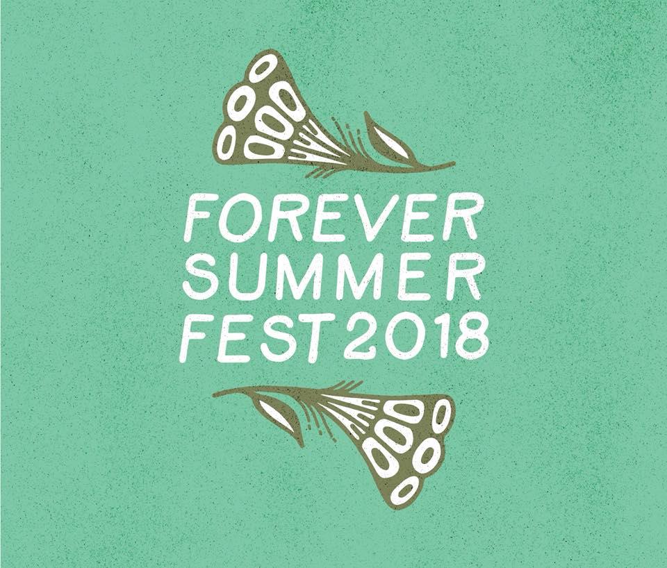 Flyer for Forever Summer Fest 2018