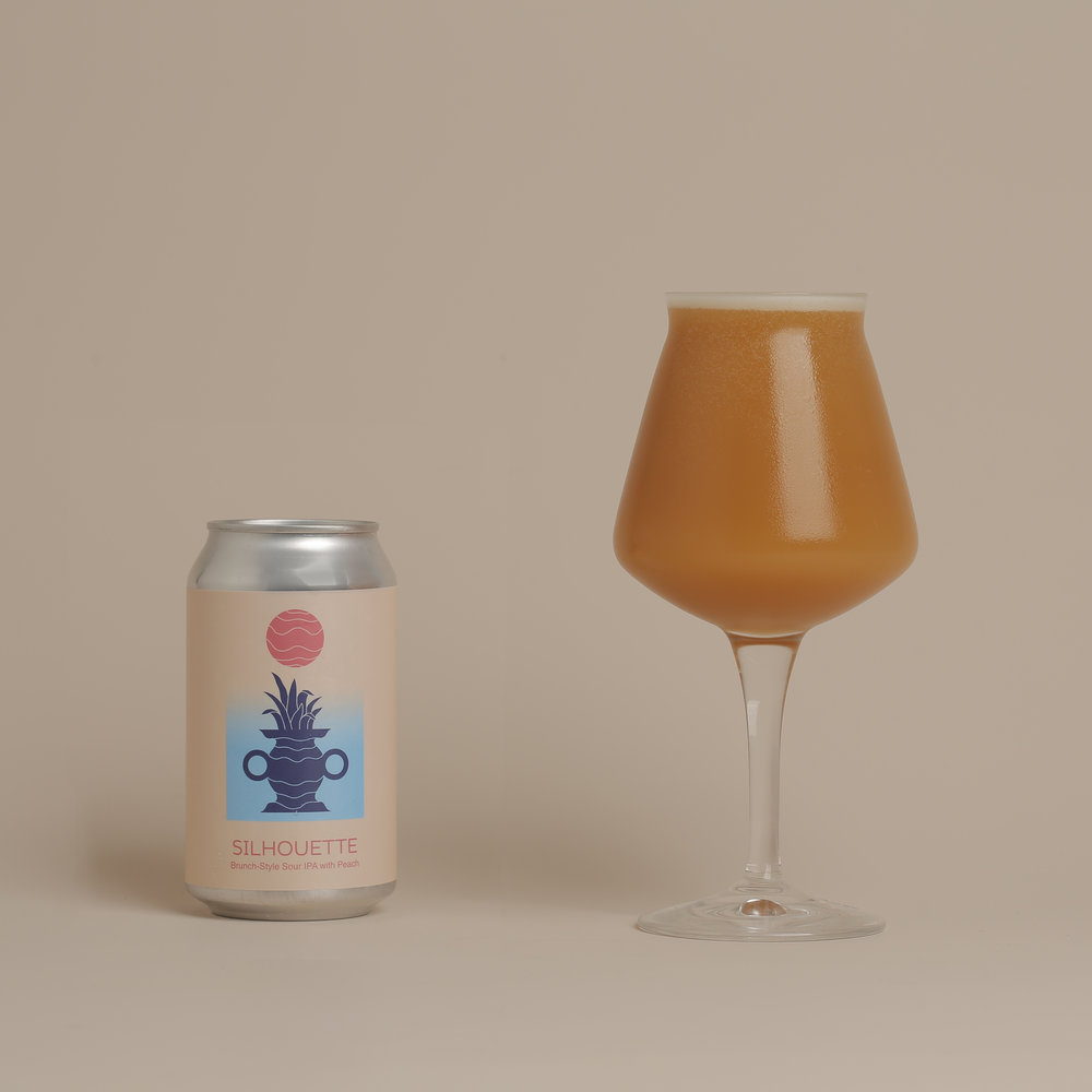 Photo of Peach Silhouette in a can and Teku
