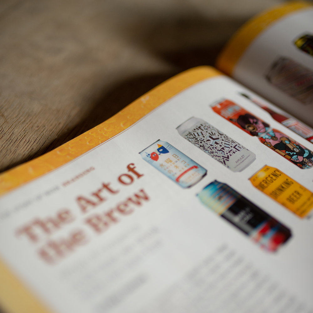 """Photo of Time Magazines article """"The Art Of The Brew"""""""