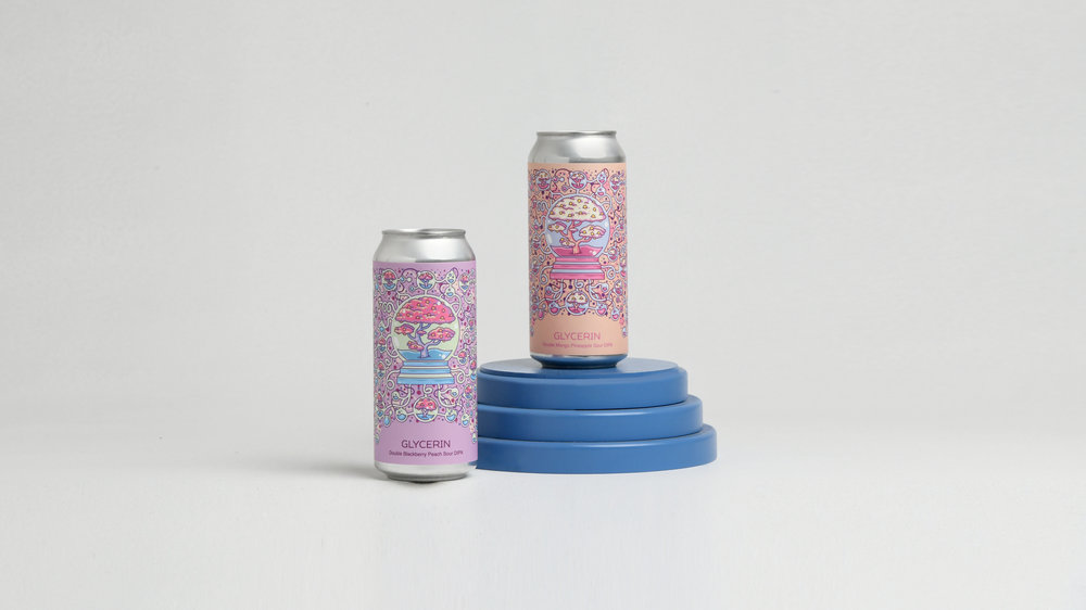 Photo of the Glycerin Variation Cans