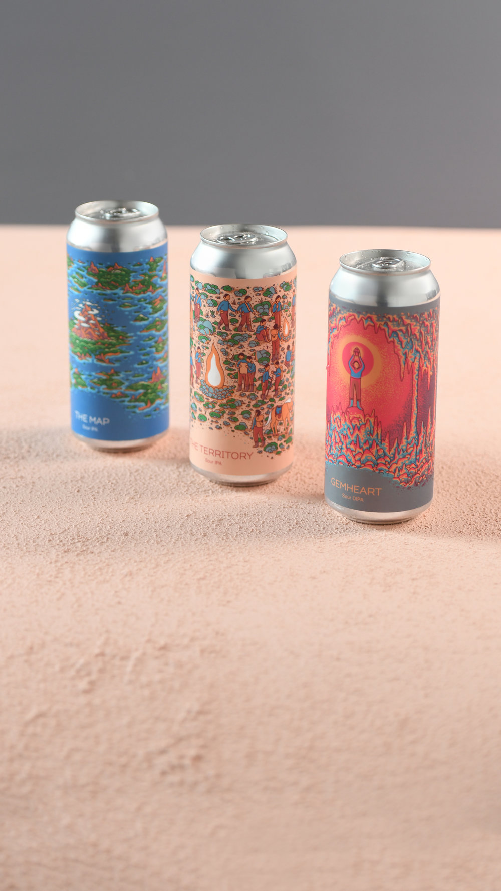 Photo of the Gemhart Cycle Cans
