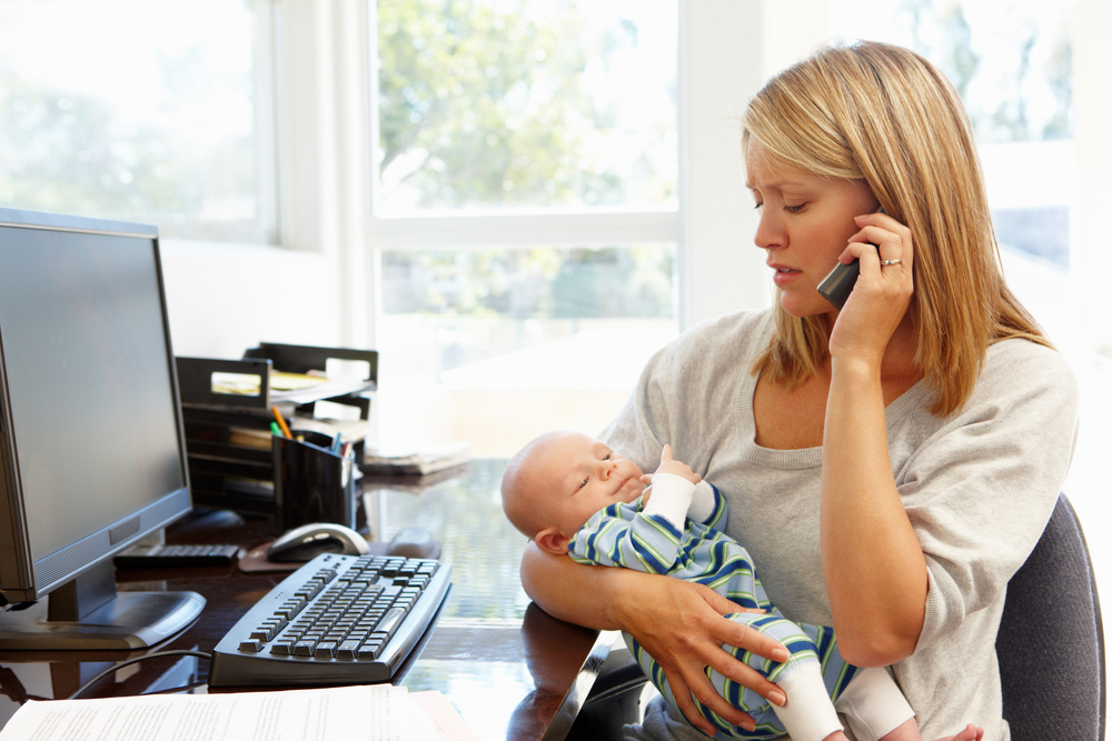 When Mom returns to work, her employer must allow her to take breaks in a private room to express milk. Image © Monkey Business -- stock.adobe.com