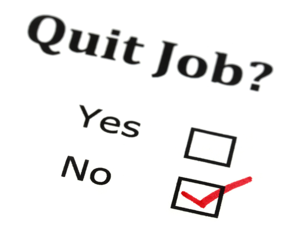 If you're facing discrimination or sexual harassment, speak with a Virginia employment attorney before you quit. Image © Swapan -- stock.adobe.com