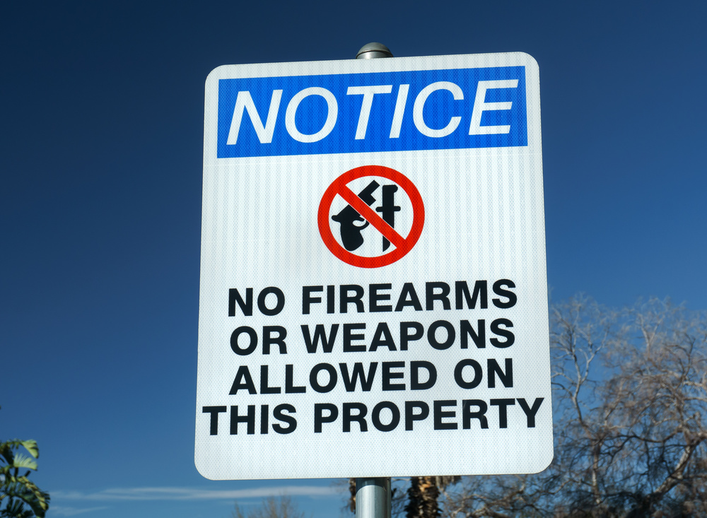 If the boss says no guns, that means no guns! Image © wolterke – stock.adobe.com