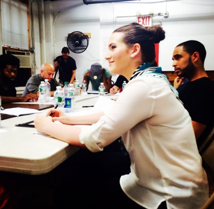 table read for the pilot, Wits End